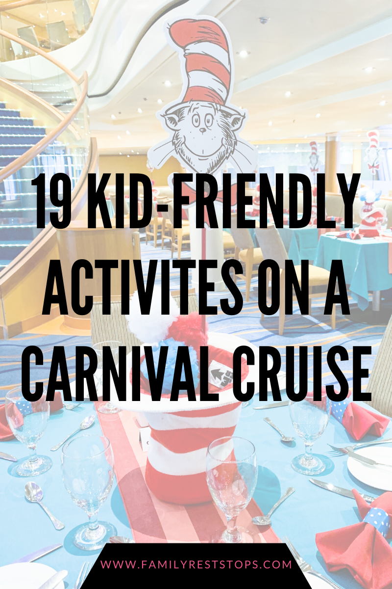 19 Kid-Friendly Activities on a Carnival Cruise